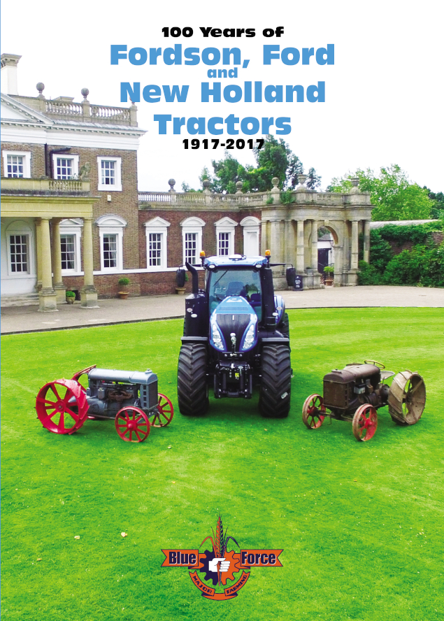 100 years of Fordson, Ford & New Holland Tractors Book