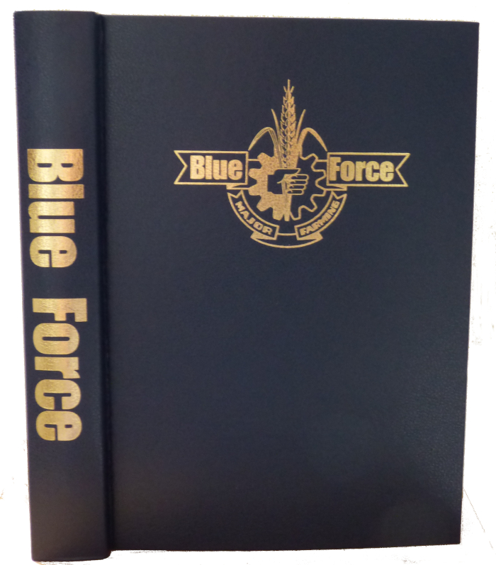 <i<BlueForce</i> magazine binder